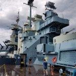 Deck of the Battleship North Carolina