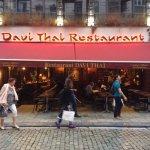 Front of Davi Thai Restaurant