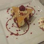 dessert a la framboise