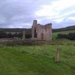 Elingham Castle at a distance
