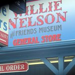 front sign for the Willie Nelson & Friends Museum