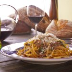 Brevi Costole - Linguine with braised short ribs.