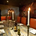 Private Dining Room - Our expert team can also work with you on table décor and set menu selecti