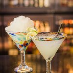 Classic Lime Margarita (Frozen or on the Rocks)