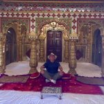 The Shobba Nivas is the ruler's private worship room. It's possible to get in and snap a photo.
