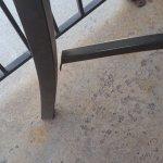 Broken Wobbly Table