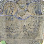 Gravestone of Mary Campbell dated 1772