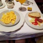 Breakfast buffet included
