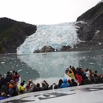 up close to a glacier