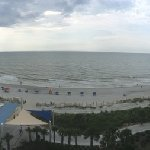 This is a panoramic view from our room on the 8th floor!