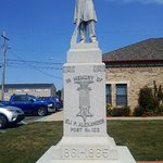 Williamston City Hall Civil War Memorial