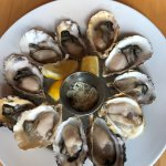 Great $1 buck happy hour oysters