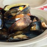 Famous PEI mussels