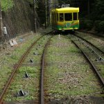 Mt. Takao Cable Car Photo