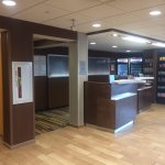 Front Desk and snack bar