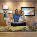 Honey meets staff at Sedona Real Inn and Suites