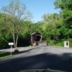 Harrisburg Covered Bridge Photo