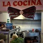 A wonderful taco bar