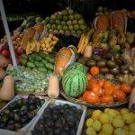 Beautiful fruit at the market.