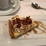 Bananas Foster Double Cream Pie