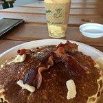 Pancakes at Knife Edge Cafe. Yummy!