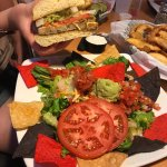Really good value fresh food , mainly burgers but several salads veggie burger,chicken ,variety