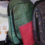 Bags that made of teak leaf