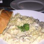 Food at cafe cotinga