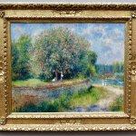 Chestnut Tree in Blossom by Auguste Renoir