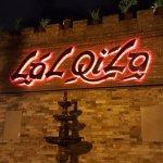 Sign outside Lal Qila - The Castle