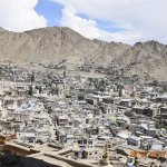 View of Leh from Palace