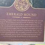 Marker for the Mississippi mound trail