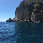 Photos taken of the views on Grotto boat trip