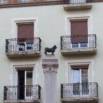 The tiniest bull monument I've seen - Teruel