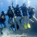 Open water dive.