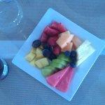 Fruit platter for breakfast