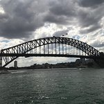 Wonderful view of the bridge from the ferry