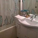 Salle de bain rénovée avec goût