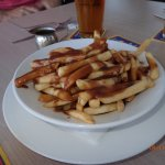 smothered chips with gravy