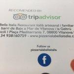 Foto de Pizzeria La Bella Italia