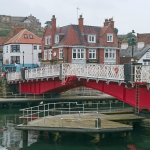 Whitby Swing bridge about to open