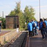 Israeli veteran marathon runners in a private memorial moment