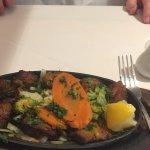 Lamb sizzling grill