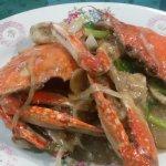 Wonderful Crab dish, special rice and Mongolian Lamb