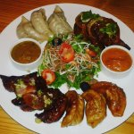 Mo:Mo: Platter  in Cellars Cafe Lounge & Bar