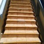 Stairs were mostly a trip hazard