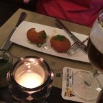 Traditional croquettes filled with cheese
