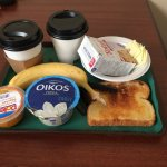 Grab and go breakfast (only a few of the MANY choices)