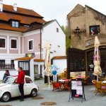 Cesky Krumlov coffee shop