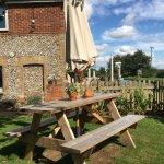 Photo of pub garden.